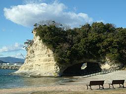 三崎公園 松下海岸
