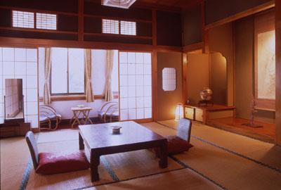 太古館の客室