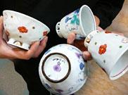 水切り湯呑・お茶碗